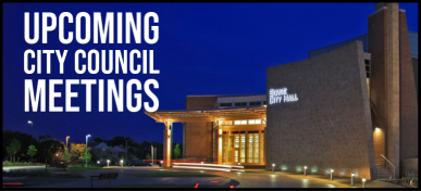 Upcoming Council Meetings Info Advanced