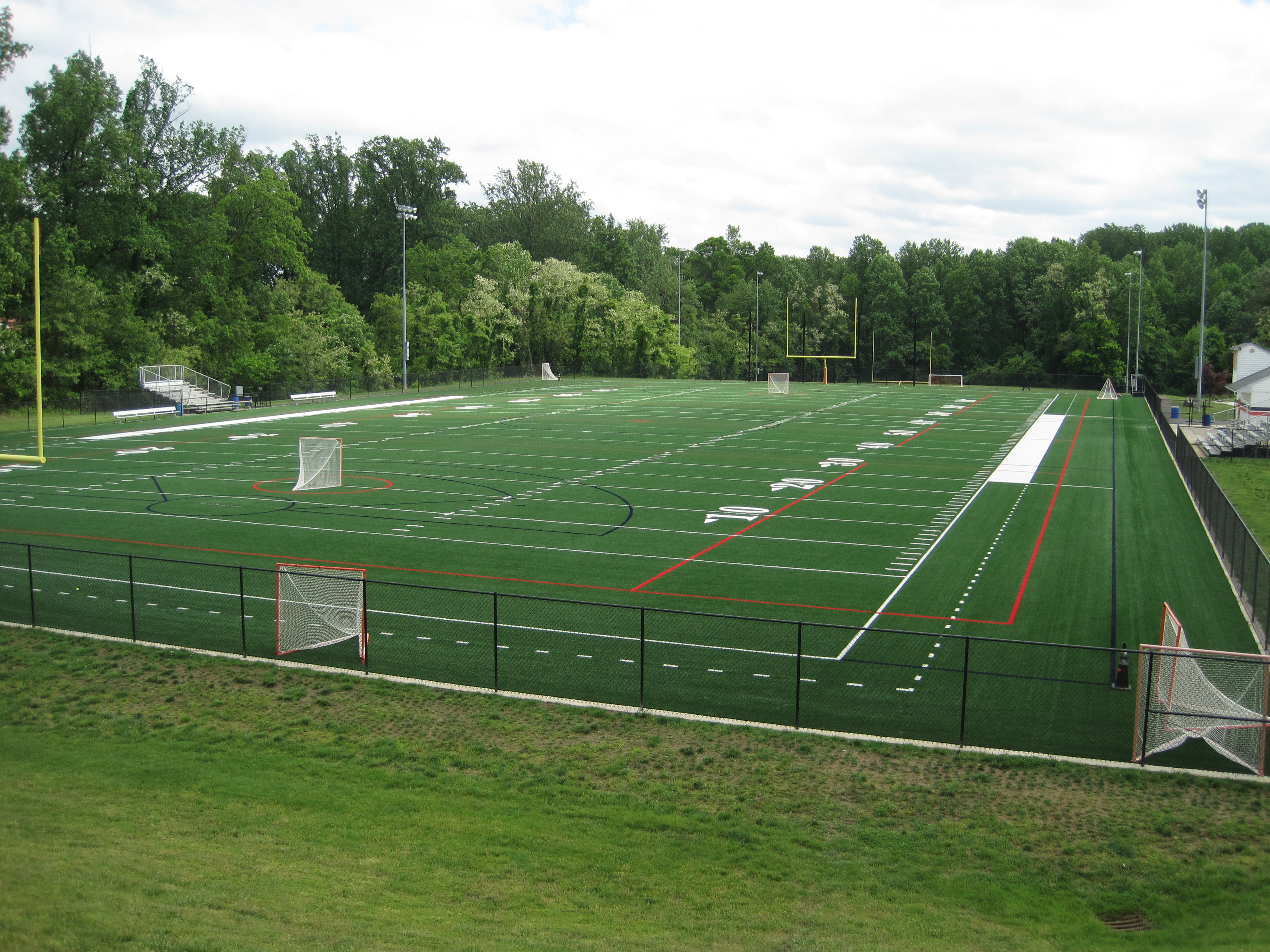 Synthetic Turf Field